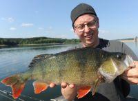 Einer der heiß-begehrten 50+-Fische aus dem Möhnesee!