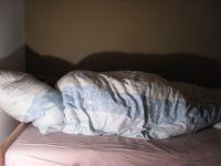 Carola im Tiefschlaf - sie träumte vor sich hin...