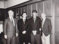 Uli Beyer gewinnt den Förderpreis des Unternehmensverbandes der Metallindustrie 1991
