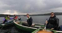Bootsangeln auf dem Möhnesee